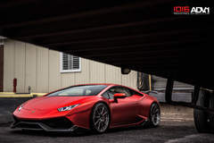 Satin Metallic Red Lamborghini Huracan LP610-4