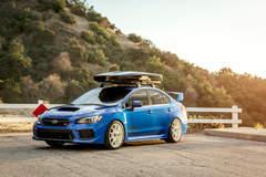 """Subaru WRX STI on 18"""" Vorsteiner V-FF 108 Wheels - Vibe Motorsports"""