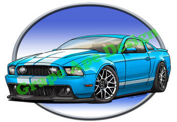 2012 Ford Mustang | Ford Mustang GT art design