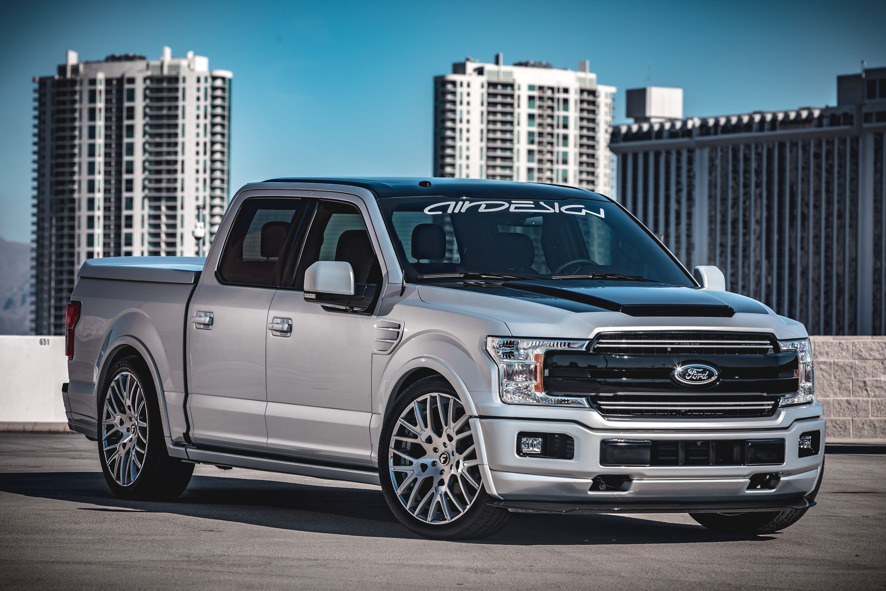 2018 Ford F-150 Lariat SuperCrew by AirDesign - Featuring