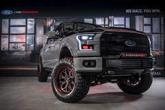 2016 Ford F-150 Lariat SuperCrew by CGS Performance Products - FabTech Suspension #FordSEMA