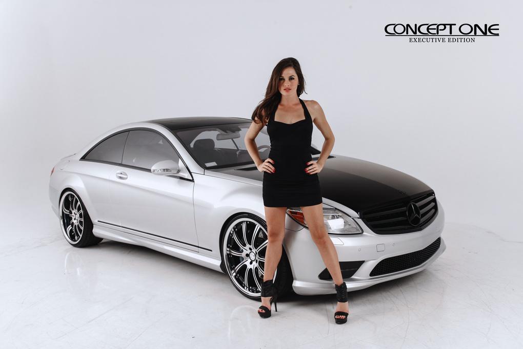 2010 Mercedes-Benz CL-Class | 2010 Mercedes-Benz CL550 on Concept One RS-10's