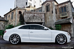 '12 Audi A5 on Concept One RS-10's
