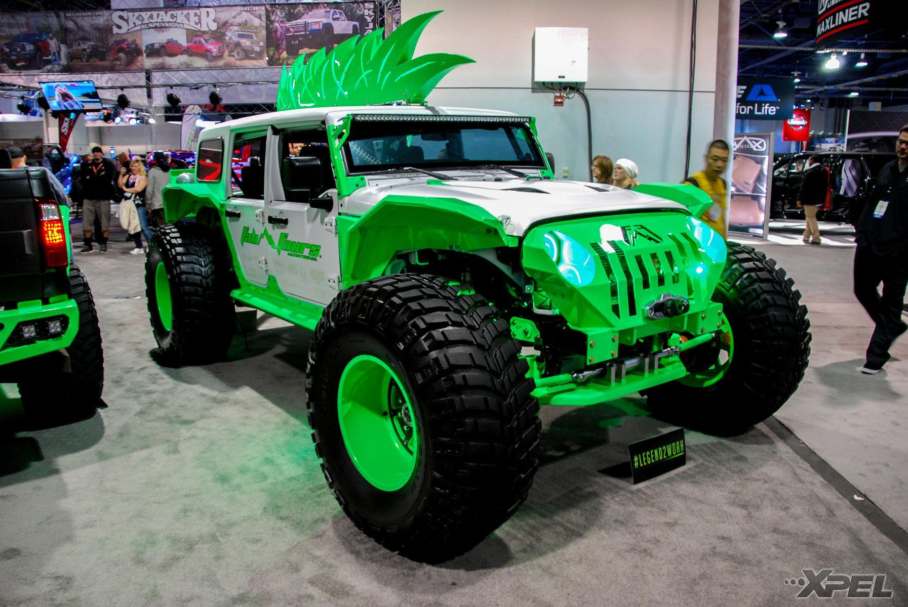Jeep Wrangler | Shots from around SEMA show