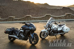 Honda CTX1300 Deluxe vs. Moto Guzzi California 1400 Touring – Head To Head