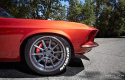 Brandon Defazio's 1969 Mustang Fastback on Forgeline RB3C Wheels