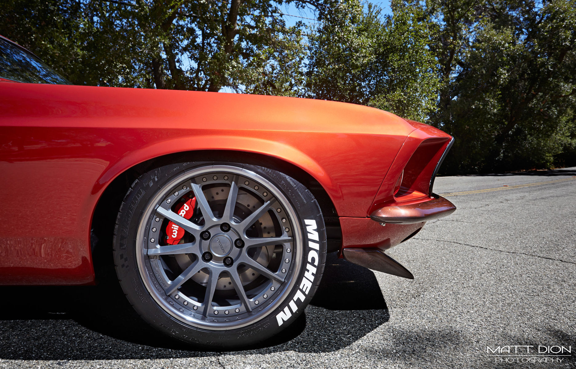 1969 Ford Mustang | Brandon Defazio's 1969 Mustang Fastback on Forgeline RB3C Wheels