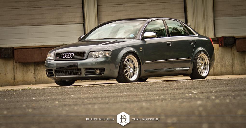 2002 Audi S4 | '02 Audi S4 on Klutch SL14's