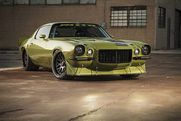 "1970 Chevrolet Camaro | D&Z Customs' ""Project Envious"" Camaro"