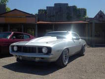 """Bill Bowling's Turbocharged """"Silver Bullet"""" '69 Camaro on Forgeline GT3C Concave Wheels"""
