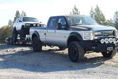 Hellwig F250 towing to Rubicon