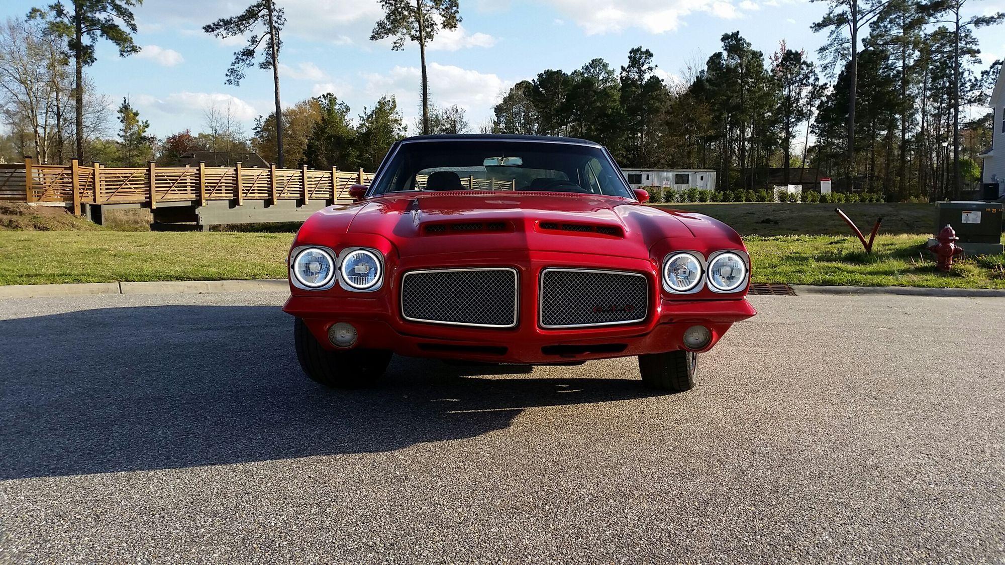 Pontiac  | GTO head shot