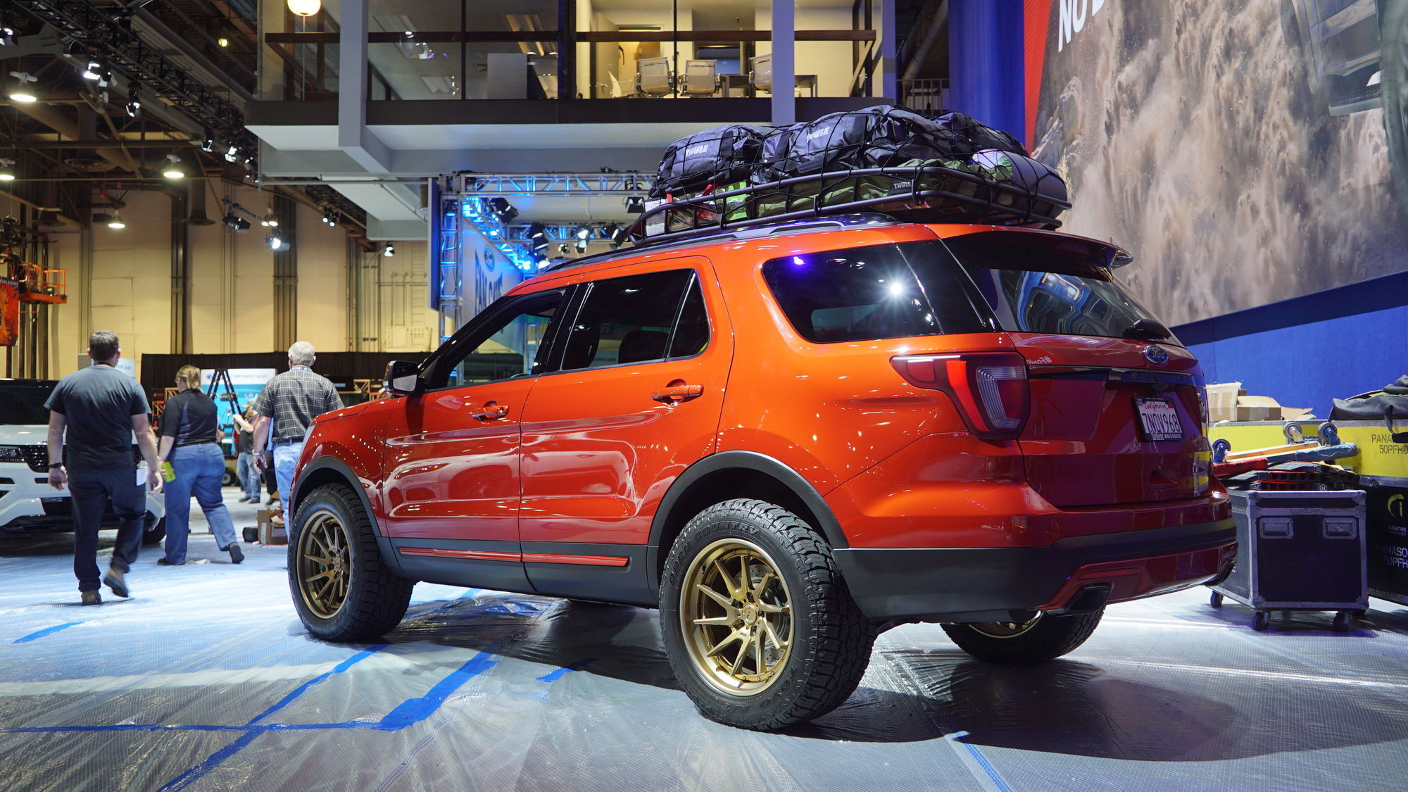 2015 Ford Explorer Sport | '15 Ford Explorer Sport by All Star Performance - Side Angled Shot
