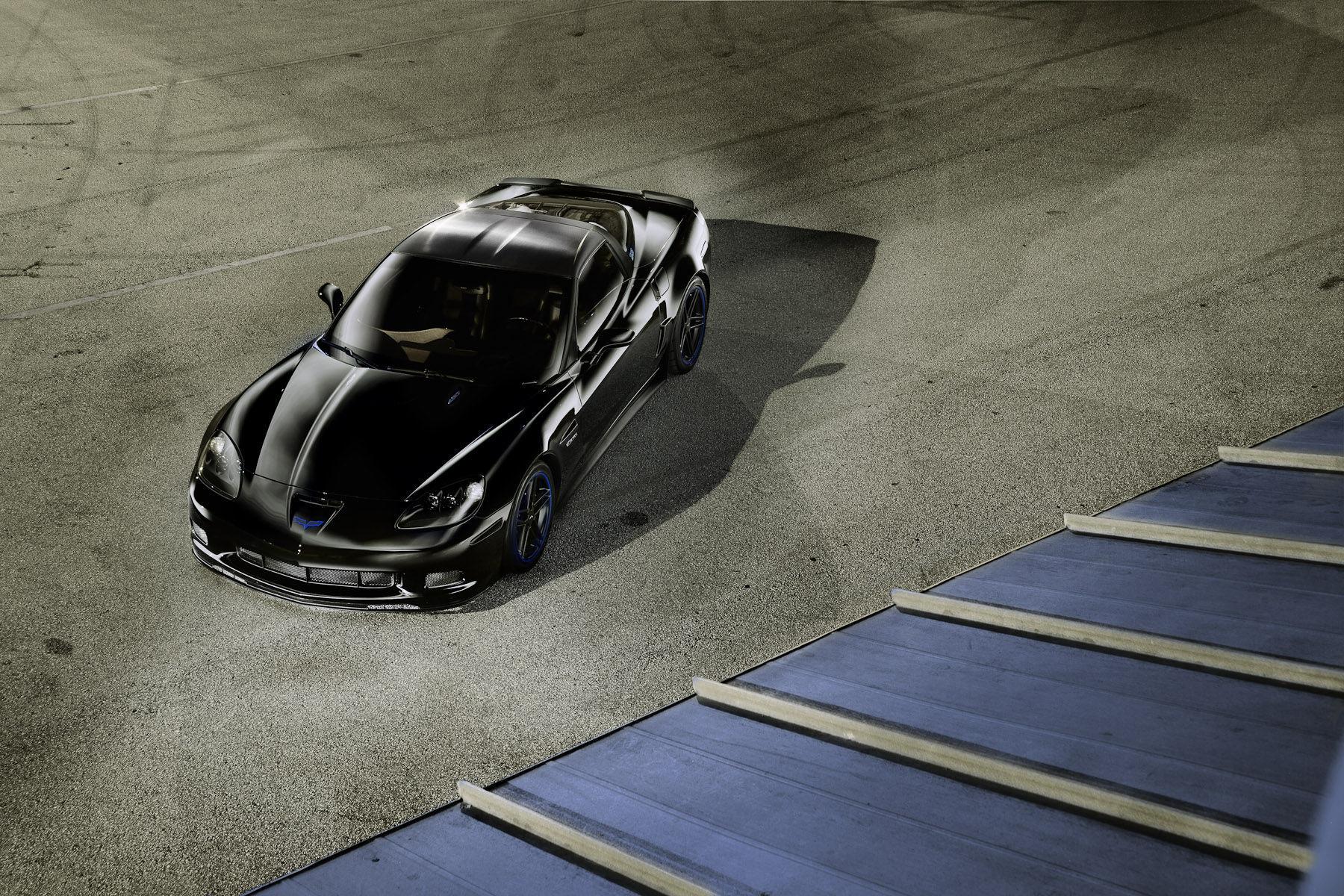 2006 Chevrolet Corvette   Black Z06