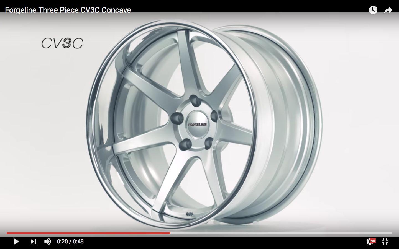 | Forgeline CV3C Concave Wheel