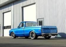 Chris Holstrom Concepts-built '69 C10 on Forgeline RB3C Wheels