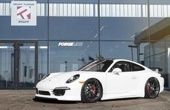 Pfaff Tuning's Porsche 991 GT3 Alternative on Forgeline One Piece Forged Monoblock GA1R Wheels