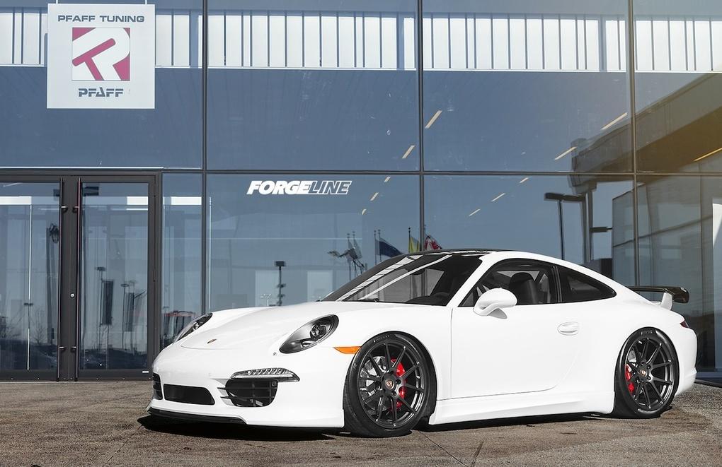2014 Porsche 911 | Pfaff Tuning's Porsche 991 GT3 Alternative on Forgeline One Piece Forged Monoblock GA1R Wheels