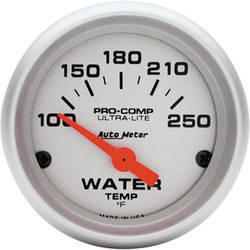 Auto Meter Ultra-Lite Water Temp. Gauge