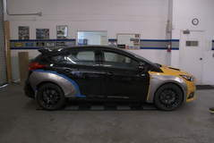 2015 Ford Focus ST by Rally Innovations - Side Profile