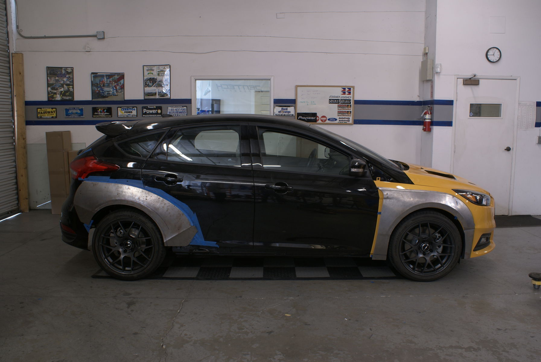 2015 Ford Focus ST | 2015 Ford Focus ST by Rally Innovations - Side Profile