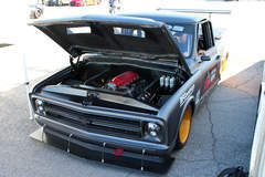 1972 Chevy C10-R Spectre SEMA Show Booth Truck