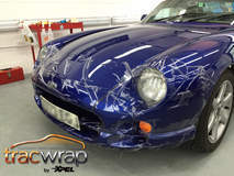 TVR protected with TracWrap until we protected it with XPEL ULTIMATE