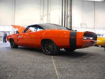 "Mo's ""Mayhem"" '69 Dodge Charger on Grip Equipped Dropkick Wheels"