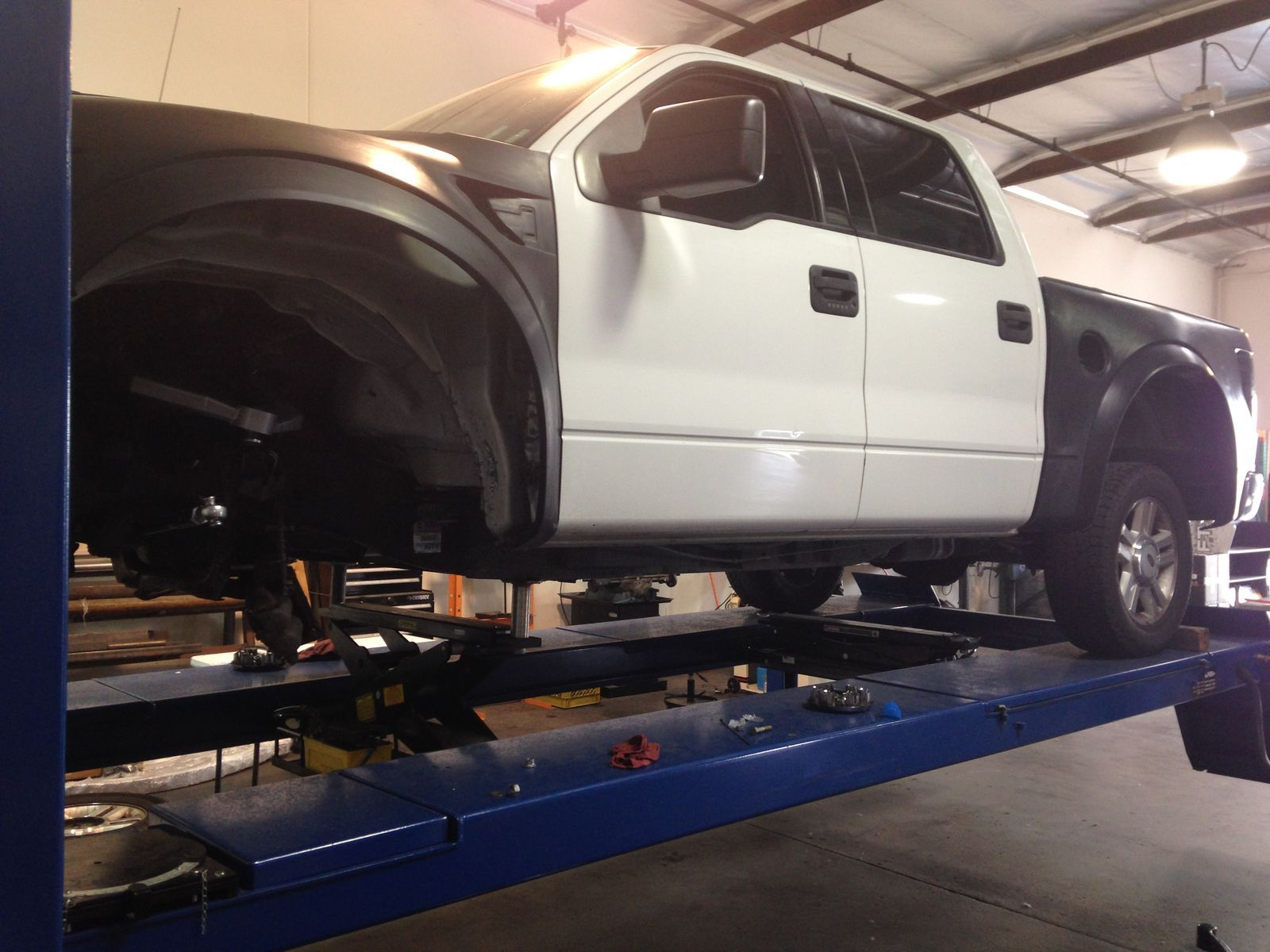 Ford F150 Off-Road Raptor Suspension Conversion - Installation