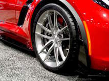 Total Lubricants C7 Corvette Z06 on Forgeline One Piece Forged Monoblock AR1 Wheels