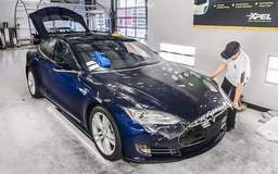 Tesla Model S P85D with XPEL ULTIMATE paint protection film