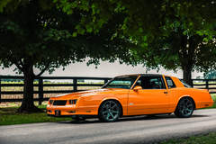 Ron and Angela's '87 Chevrolet Monte Carlo on Forgeline One Piece Forged Monoblock CV1 Wheels