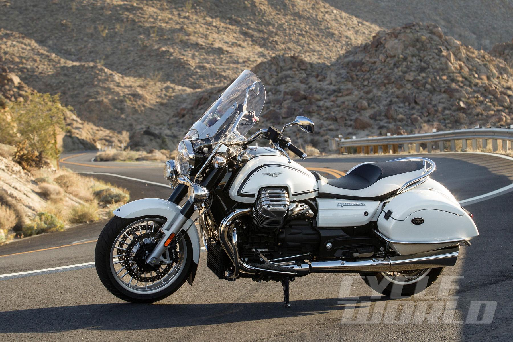Moto Guzzi    Honda CTX1300 Deluxe vs. Moto Guzzi California 1400 Touring – Comparison Test