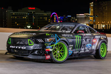 2016 Ford Mustang | Vaughn Gittin Jr's  Ford Mustang - SEMA 2015