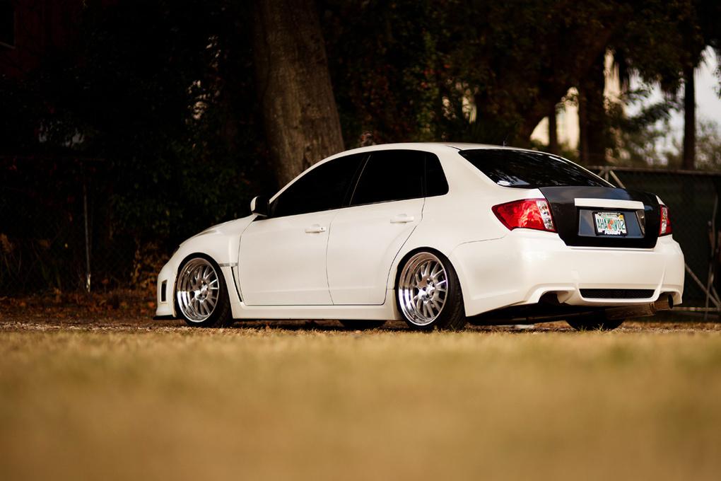 2010 Subaru Impreza WRX | '10 Subaru WRX on Klutch SL14's