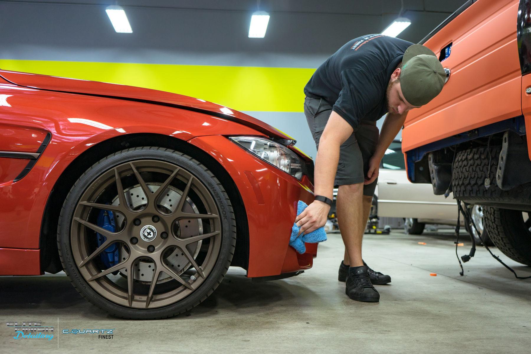 2014 BMW M3 | How to use CarPro Reload Spray Sealant