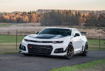 2018 Chevrolet Camaro | Tony Scalici's Camaro ZL1 on Forgeline One Piece Forged Monoblock GS1R Wheels