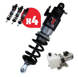 JRI Shocks With Hydraulic Ride Height System
