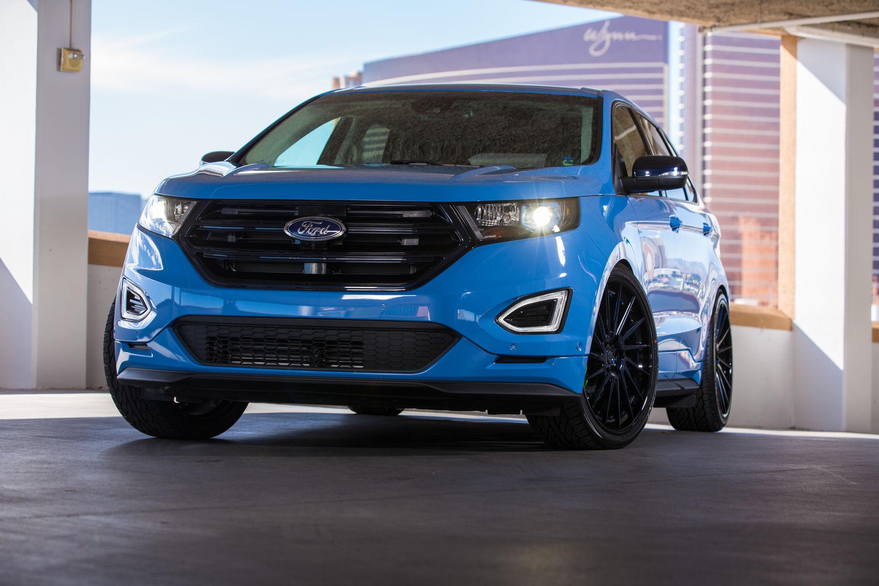 2015 Ford Edge | 2015 Tijn Ford Edge Sport - Front Profile