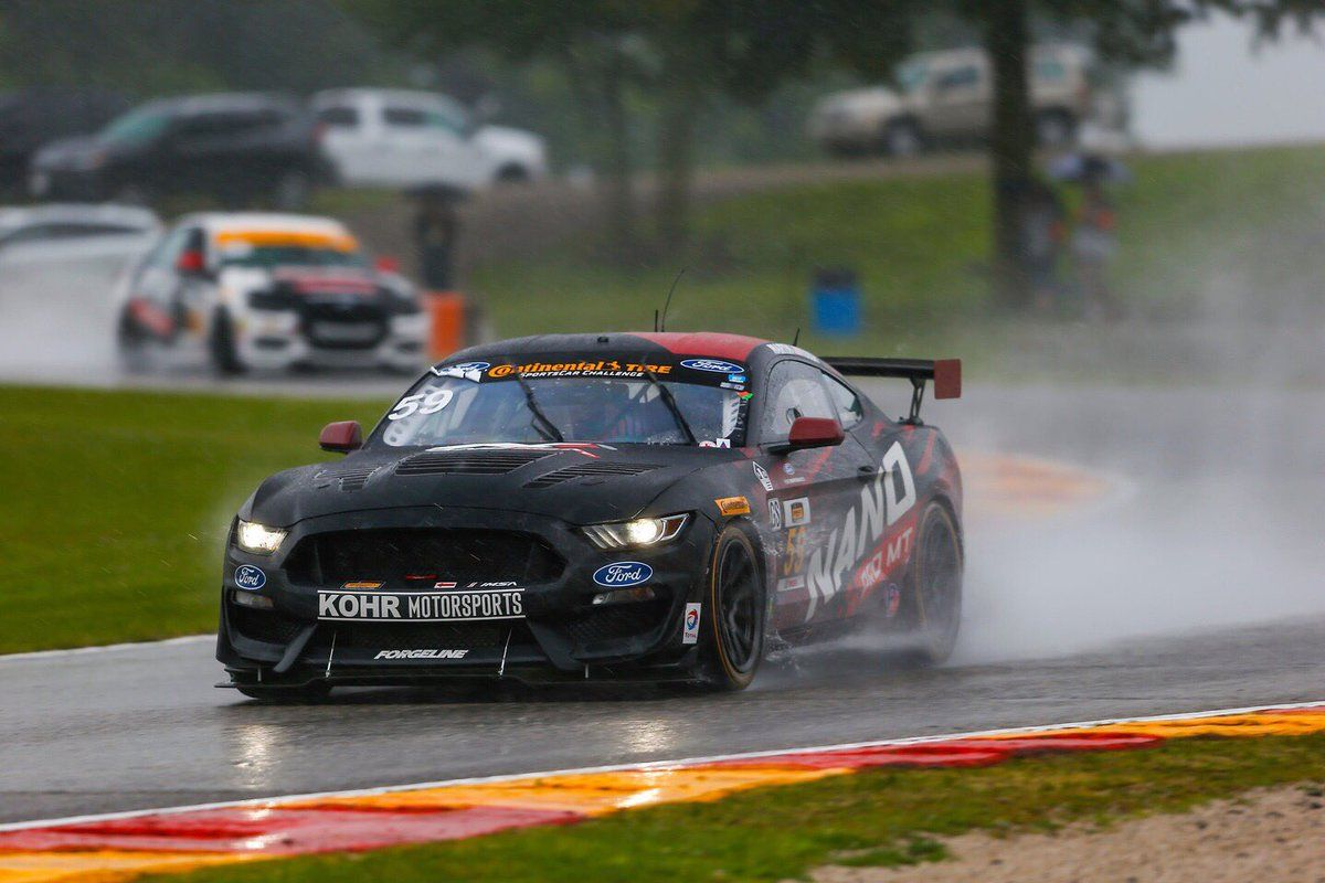 2017 Ford Mustang | Kohr Motorsports Wins IMSA CTSC Race at Road America on Forgeline One Piece Forged Monoblock GS1R Wheels