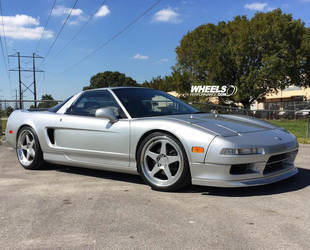 1991 Acura NSX | OUR CLIENT'S ACURA NSX WITH FORGELINE FF3 WHEELS