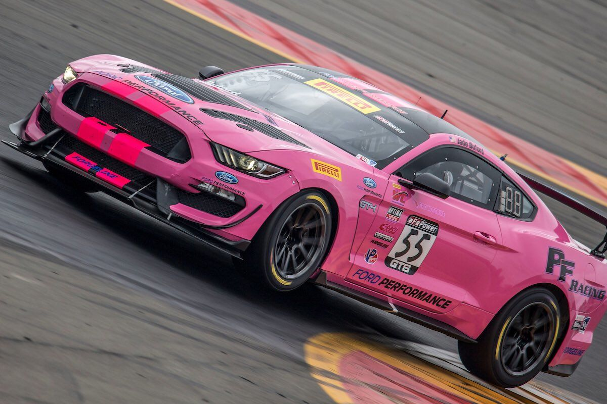 2018 Ford Mustang | Pirelli World Challenge 2018 Season Wraps Up with Forgeline Podium Sweep