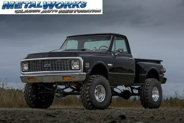 1972 Chevrolet C-10 | MetalWorks 1972 stepside truck