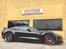 Joe's 2017 Corvette Grand Sport Z07 on Forgeline One Piece Forged Monoblock VX1 Wheels