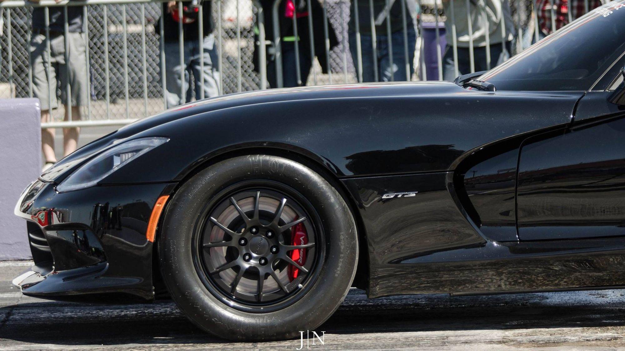 2013 Dodge Viper | D3 Performance Engineering World's Quickest Gen 5 Dodge Viper on Forgeline GA3-6 Six Lug Wheels - Wheel Shot