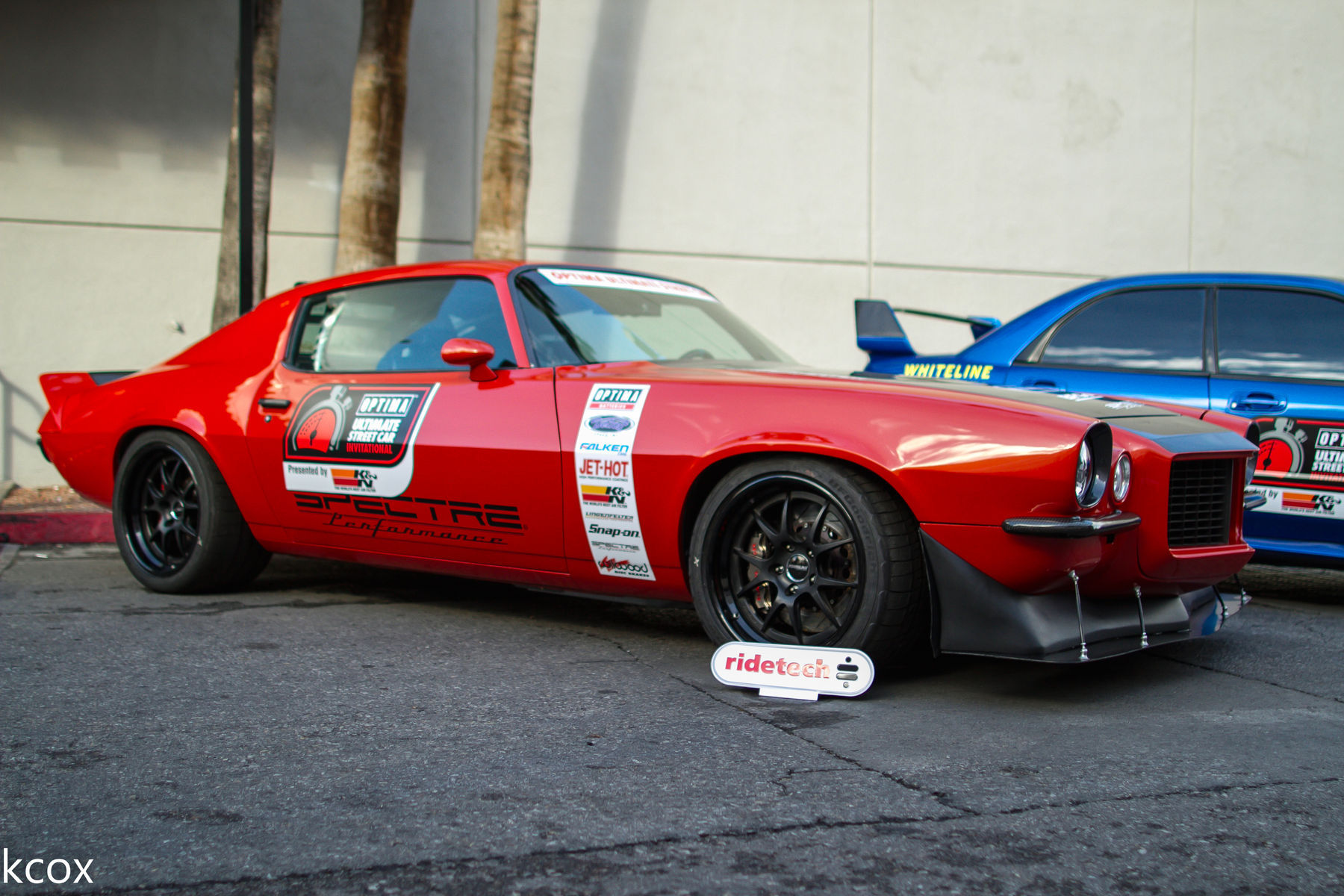 1973 Chevrolet Camaro | Mary Pozzi's '73 Camaro on Forgeline GA3 Wheels at the 2015 SEMA Show