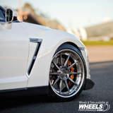 Nissan GT-R w/ COR Cipher Wheels