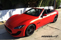 Maserati Gran Turismo Flat Red Wrap