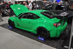 Supercharged Scion FRS Drifter @ SEMA '13