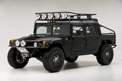 RCH Designs Custom Built Hummer H1 - Front Angled Shot